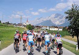 wielrennen in Tirol Leutasch